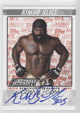 "2009 Topps UFC The Ultimate Fighter Autographs #TUF-KS - Kevin ""Kimbo Slice"" Ferguson"