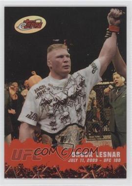 2009 eTopps #1 - Brock Lesnar /999