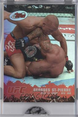 2009 eTopps #2 - Georges St-Pierre /999