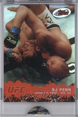 2009 eTopps #5 - BJ Penn /999