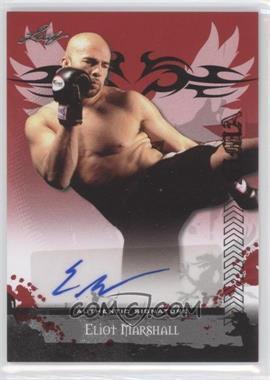 2010 Leaf MMA - Autographs #AU-EM2 - Eliot Marshall