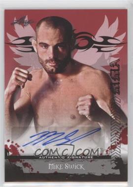 2010 Leaf MMA - Autographs #AU-MS1 - Mike Swick