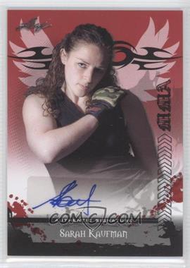 2010 Leaf MMA - Autographs #AU-SK2 - Sarah Kaufman