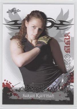 2010 Leaf MMA - [Base] #72 - Sarah Kaufman