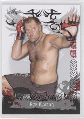 2010 Leaf MMA - [Base] #86 - Rob Kaman