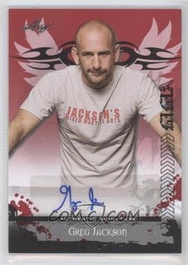 2010 Leaf MMA [???] #AV-GJ1 - Greg Jackson