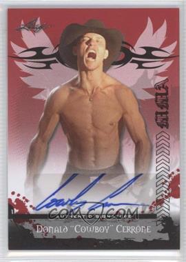 2010 Leaf MMA Autographs #AU-DC1 - Donald Cerrone