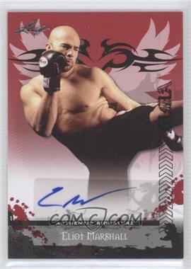 2010 Leaf MMA Autographs #AU-EM2 - Eliot Marshall