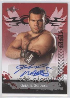 2010 Leaf MMA Autographs #AU-GG1 - Gabriel Gonzaga