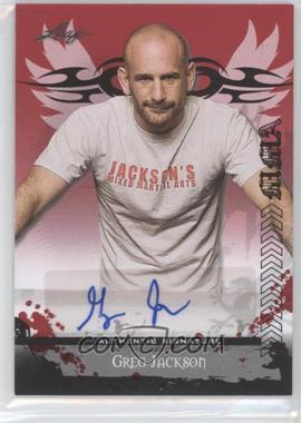 2010 Leaf MMA Autographs #AU-GJ1 - Greg Jackson