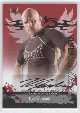 2010 Leaf MMA Autographs #AU-KJ1 - Keith Jardine