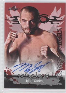 2010 Leaf MMA Autographs #AU-MS1 - Mike Swick
