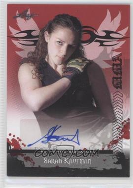 2010 Leaf MMA Autographs #AU-SK2 - Sarah Kaufman