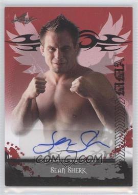 2010 Leaf MMA Autographs #AU-SS1 - Sean Sherk