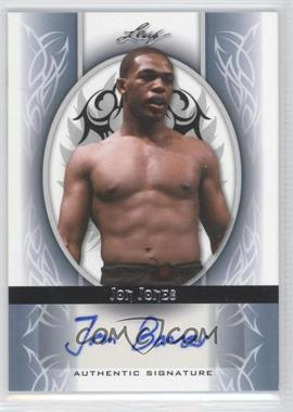 2010 Leaf MMA Promotional - Autographs #AU-JJ1 - Jon Jones