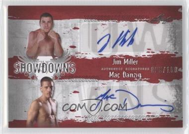 2010 Leaf MMA Showdowns Dual Autographs Red #JM1/MD1 - [Missing] /100
