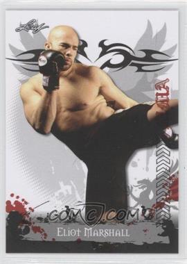 2010 Leaf MMA #33 - Eliot Marshall