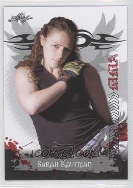2010 Leaf MMA #72 - Sarah Kaufman