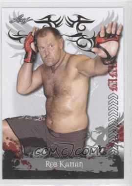 2010 Leaf MMA #86 - Rob Kaman