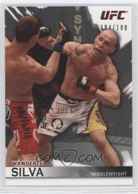 """2010 Topps UFC [???] #63 - Wanderlei """"The Axe Murderer"""" Silva (Wanderlei Silva) /188"""