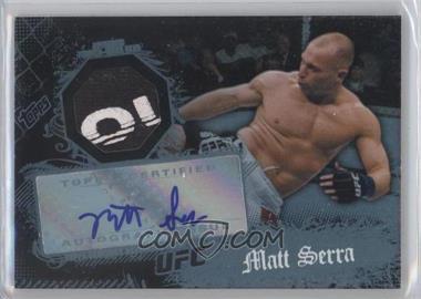 2010 Topps UFC [???] #9 - Matt Serra