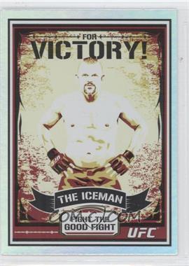"""2010 Topps UFC [???] #MP1 - Chuck """"The Iceman"""" Liddell (Chuck Liddell)"""