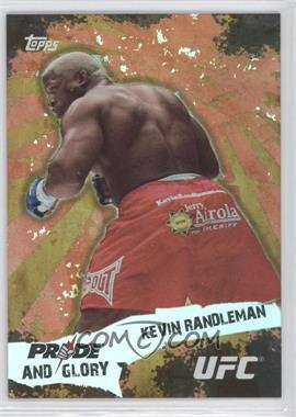2010 Topps UFC [???] #PG-4 - Kevin Randleman