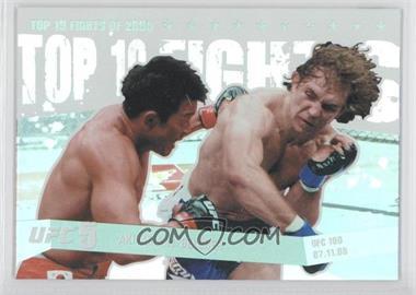 2010 Topps UFC [???] #TT09 15 - Yoshihiro Akiyama vs. Alan Belcher