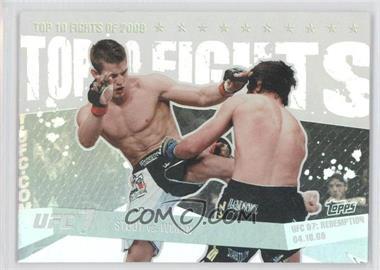 2010 Topps UFC [???] #TT09 20 - Sam Stout vs. Matt Wiman