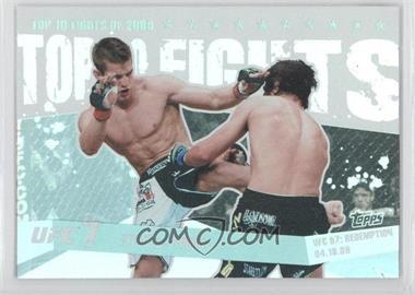 2010 Topps UFC [???] #TT0920 - Sam Stout vs. Matt Wiman