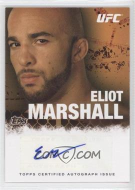 2010 Topps UFC Autographs #FA-EM - Eliot Marshall