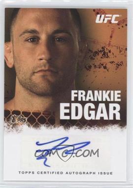 2010 Topps UFC Autographs #FA-FE - Frankie Edgar