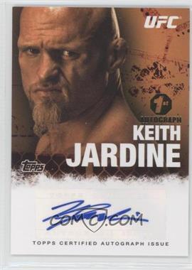 2010 Topps UFC Autographs #FA-KJ - Keith Jardine