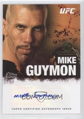 2010 Topps UFC Autographs #FA-MG - Mike Guymon