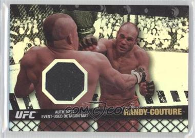 "2010 Topps UFC Fight Mat Relics Silver #FM-RC - Randy ""The Natural"" Couture (Randy Couture) /88"