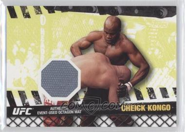 2010 Topps UFC Fight Mat Relics #FM-CK - Cheick Kongo