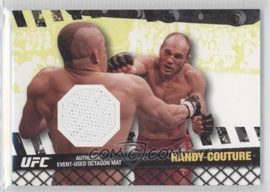 "2010 Topps UFC Fight Mat Relics #FM-RC - Randy ""The Natural"" Couture (Randy Couture)"