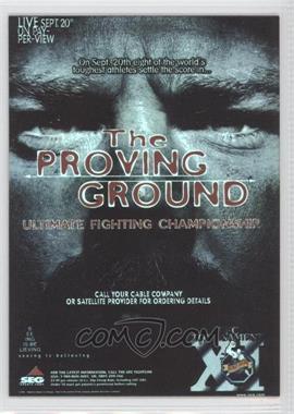 2010 Topps UFC Fight Poster Review #FPR-UFC11 - UFC11