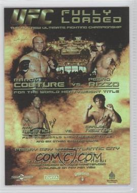 2010 Topps UFC Fight Poster Review #FPR-UFC31 - UFC31 (Randy Couture, Pedro Rizzo, Pat Miletich, Carlos Newton)