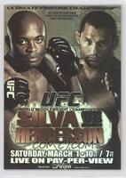 Anderson Silva vs. Dan Henderson