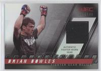 Brian Bowles /188
