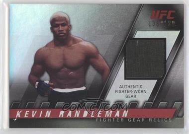 2010 Topps UFC Fighter Gear Relics #FG-KR - Kevin Randleman /188