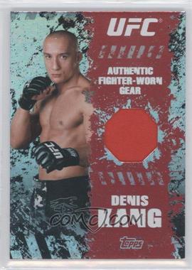 2010 Topps UFC Fighter Gear Relics #FR-DK - Denis Kang