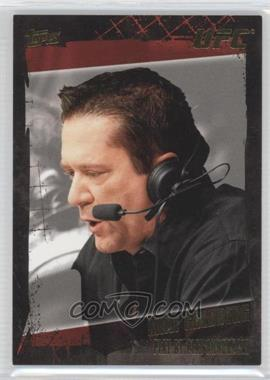 2010 Topps UFC Gold #168 - Mike Goldberg