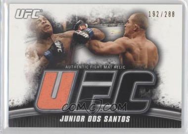 2010 Topps UFC Knockout - Fight Mat Relic #FM-JDS - Junior Dos Santos /288