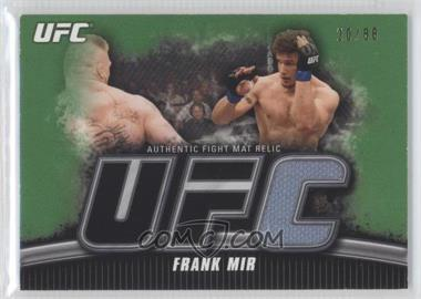 2010 Topps UFC Knockout Fight Mat Relic Green #FM-FM - Frank Mir /88