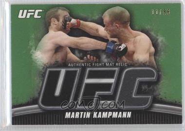 2010 Topps UFC Knockout Fight Mat Relic Green #FM-MK - Martin Kampmann /88