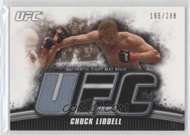 """2010 Topps UFC Knockout Fight Mat Relic #FM-CLI - Chuck """"The Iceman"""" Liddell (Chuck Liddell) /288"""