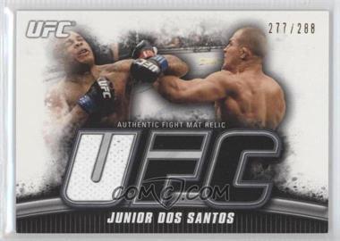 2010 Topps UFC Knockout Fight Mat Relic #FM-JDS - Junior Dos Santos /288