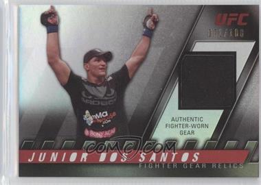2010 Topps UFC Knockout Fighter Gear Relics #FG-JDS - Junior Dos Santos /188